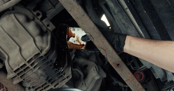 FORD FIESTA 1.4 16V Ölfilter ausbauen: Anweisungen und Video-Tutorials online