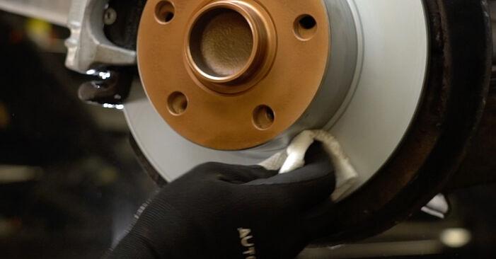 Bremsscheiben Ihres Audi A6 C5 Avant 1.9 TDI 2005 selbst Wechsel - Gratis Tutorial