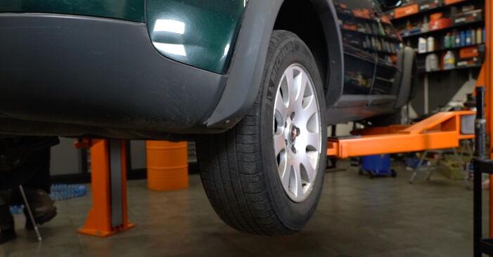 Bremsscheiben Audi A6 C5 Avant 2.4 1999 wechseln: Kostenlose Reparaturhandbücher