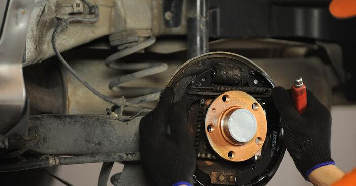 Zweckdienliche Tipps zum Austausch von Bremsbacken beim SKODA OCTAVIA (1U2) RS 1.8 T 2010