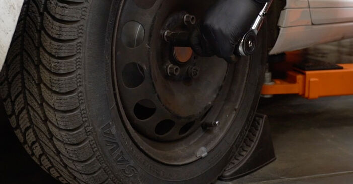 Bremsbacken Ihres Skoda Octavia 1u RS 1.8 T 2004 selbst Wechsel - Gratis Tutorial