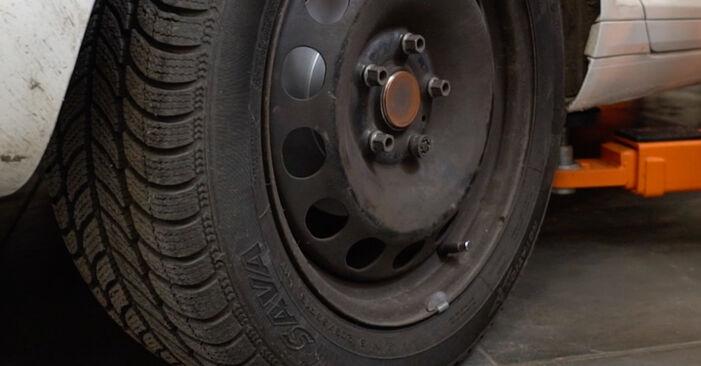 SKODA OCTAVIA 1.8 T Bremsbacken ausbauen: Anweisungen und Video-Tutorials online