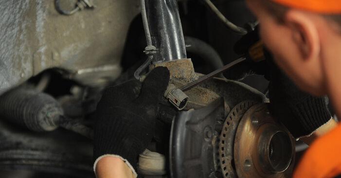 Hvordan skifte Hjullager på SKODA OCTAVIA (1U2) 2008 – tips og triks