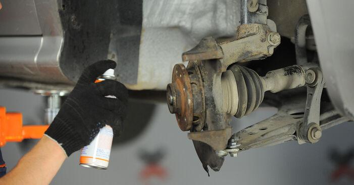 Bytte Hjullager på Skoda Octavia 1u 2006 1.9 TDI alene
