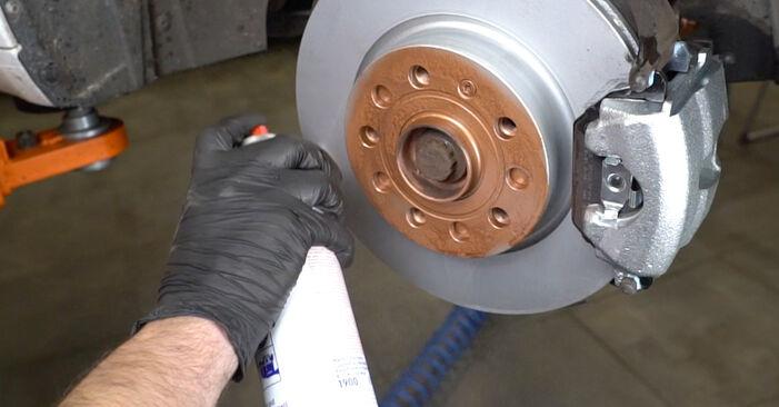 Hvordan bytte Hjullager på SKODA OCTAVIA (1U2) 1.8 T 1999 selv