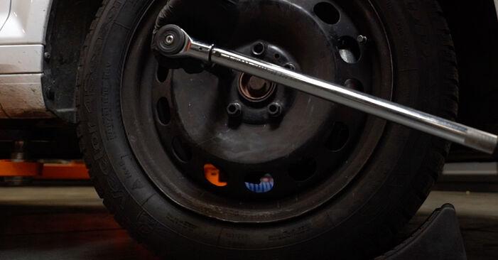 Vanskelighetsgrad: Bytte av Hjullager på Skoda Octavia 1u 1.9 TDI 2002 – last ned illustrert veiledning