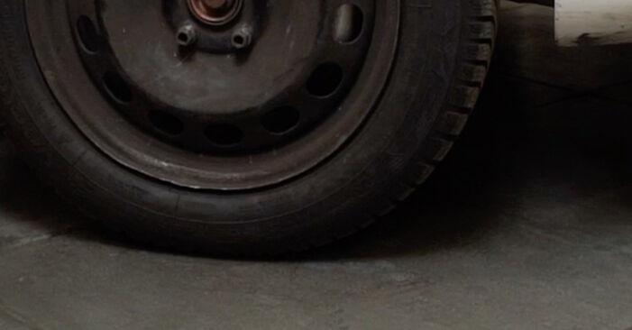 Hvordan skifte SKODA OCTAVIA 2003 Hjullager trinn–for–trinn veiledning