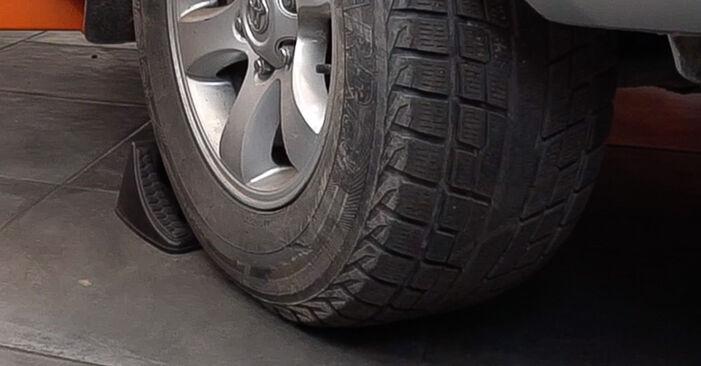 Wie Spurstangenkopf Toyota Prado J120 3.0 D-4D 2002 tauschen - Kostenlose PDF- und Videoanleitungen