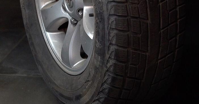 Austauschen Anleitung Spurstangenkopf am Toyota Prado J120 2003 3.0 D-4D selbst
