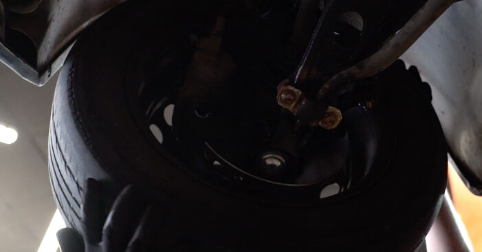 Spurstangenkopf Ihres Fiat Punto 188 1.9 DS 60 2007 selbst Wechsel - Gratis Tutorial