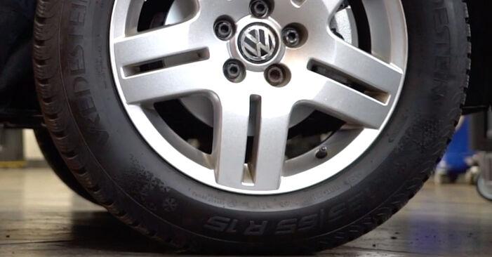 VW GOLF 1.9 TDI Spurstangenkopf ausbauen: Anweisungen und Video-Tutorials online