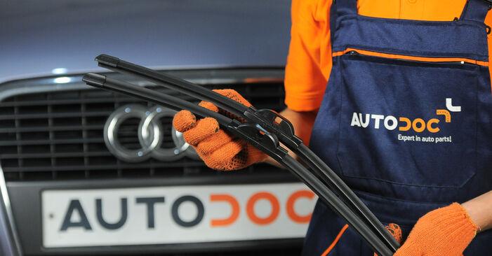 Wie Scheibenwischer Audi A4 B7 Avant 2.0 TDI 2004 tauschen - Kostenlose PDF- und Videoanleitungen