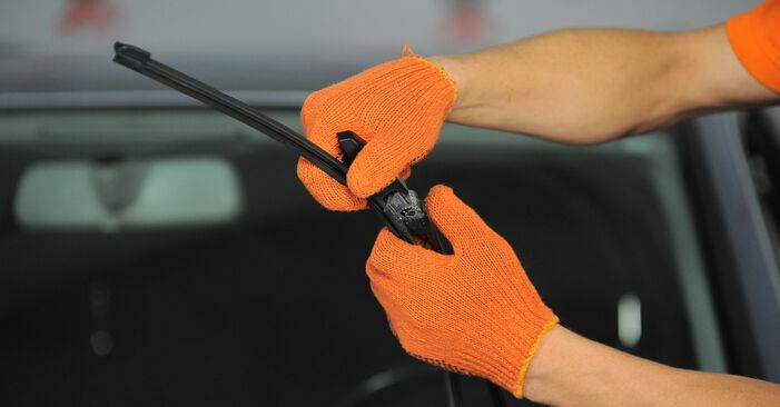 Scheibenwischer Audi A4 B7 Avant 1.9 TDI 2006 wechseln: Kostenlose Reparaturhandbücher