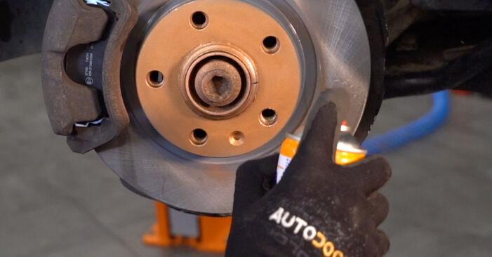 Austauschen Anleitung Spurstangenkopf am Audi A4 B6 Avant 2003 1.9 TDI selbst