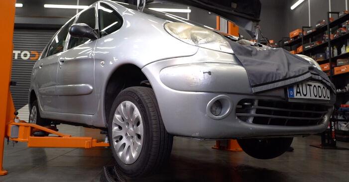 Spurstangenkopf Citroen Xsara Picasso 1.8 16V 2001 wechseln: Kostenlose Reparaturhandbücher