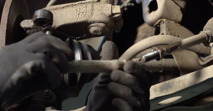 CITROËN C3 I (FC_) 2012 1.4 HDi Skersinės vairo trauklės galas keitimas savarankiškai
