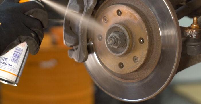 Ar sudėtinga pasidaryti pačiam: CITROËN C3 I (FC_) 1.4 i Bivalent 2008 Skersinės vairo trauklės galas keitimas - atsisiųskite iliustruotą instrukciją