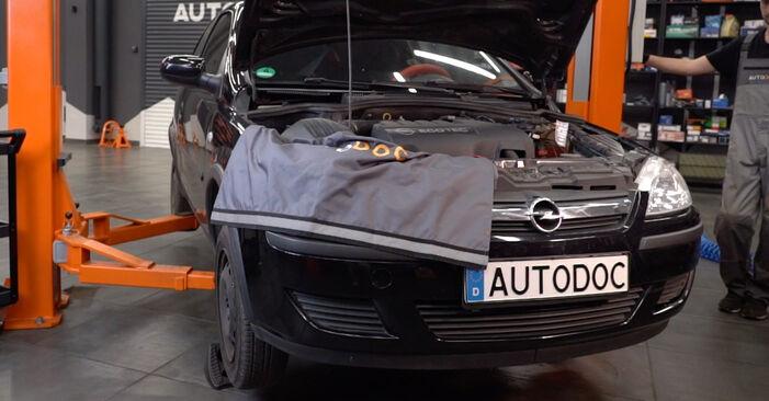 Spurstangenkopf Opel Corsa C 1.3 CDTI (F08, F68) 2002 wechseln: Kostenlose Reparaturhandbücher