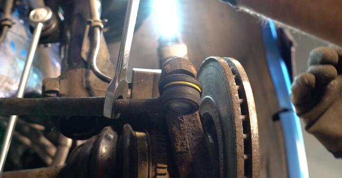 PEUGEOT 206 2007 Końcówka drążka kierowniczego poprzecznego instrukcja wymiany krok po kroku