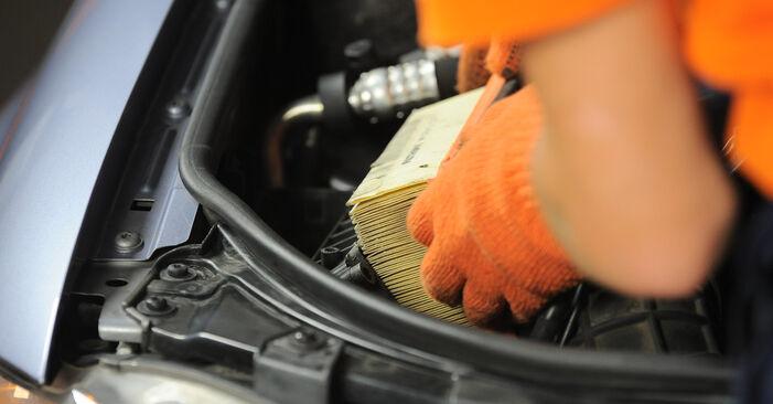 Combien de temps dure le remplacement : Filtre à Air sur Audi A4 B7 Avant 2007 - manuel PDF informatif