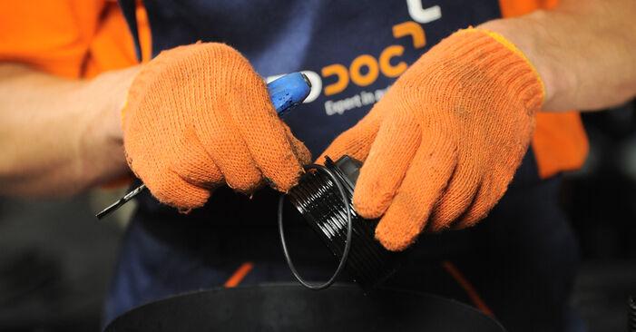 Wie Ölfilter Audi A4 B7 Avant 2.0 TDI 2004 tauschen - Kostenlose PDF- und Videoanleitungen