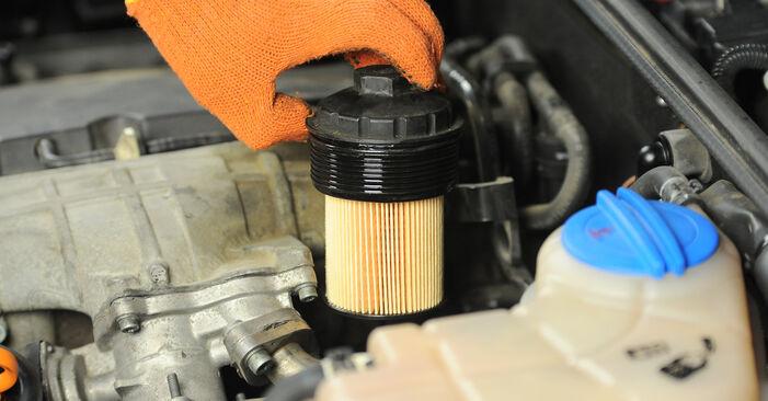 Wie AUDI A4 2.0 TFSI quattro 2008 Ölfilter ausbauen - Einfach zu verstehende Anleitungen online
