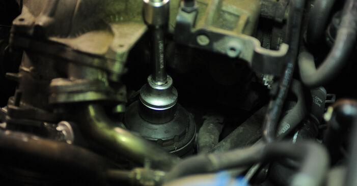 Ölfilter am AUDI A4 Avant (8ED, B7) 3.0 TDI quattro 2004 wechseln – Laden Sie sich PDF-Handbücher und Videoanleitungen herunter