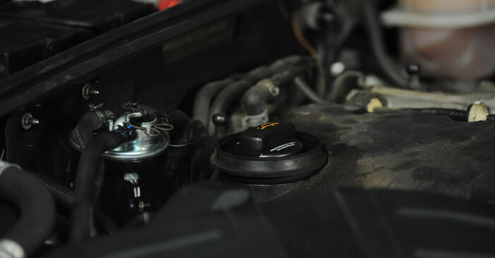 Wie schwer ist es, selbst zu reparieren: Ölfilter Audi A4 B7 Avant 1.8 T 2005 Tausch - Downloaden Sie sich illustrierte Anleitungen