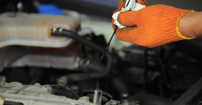 Austauschen Anleitung Ölfilter am Audi A4 B7 Avant 2004 2.0 TDI selbst