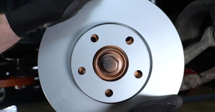 Savarankiškas AUDI A6 Avant (4B5, C5) 2.5 TDI 2000 Stabdžių diskas keitimas