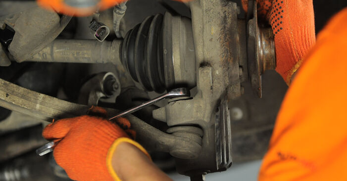 Wie Radlager AUDI A4 Avant (8ED, B7) 2.0 TDI 16V 2003 austauschen - Schrittweise Handbücher und Videoanleitungen