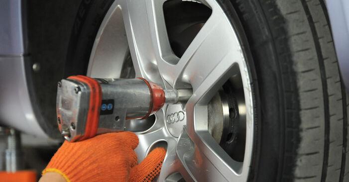 Wechseln Radlager am AUDI A4 Avant (8ED, B7) 2.0 TDI quattro 2005 selber
