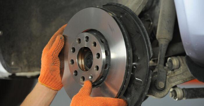 Wie schwer ist es, selbst zu reparieren: Radlager Audi A4 b7 1.8 T 2008 Tausch - Downloaden Sie sich illustrierte Anleitungen