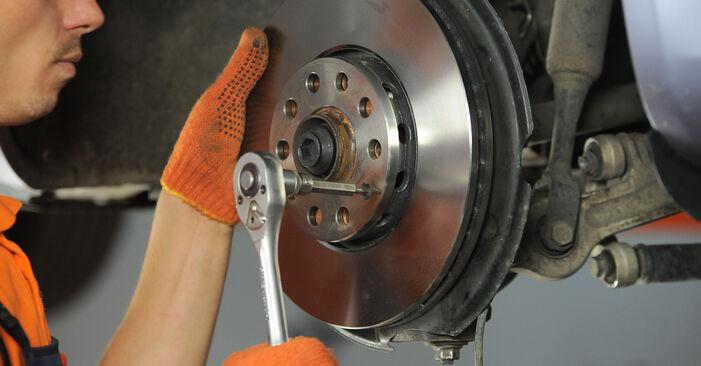 Radlager beim AUDI A4 2.0 TDI 2009 selber erneuern - DIY-Manual