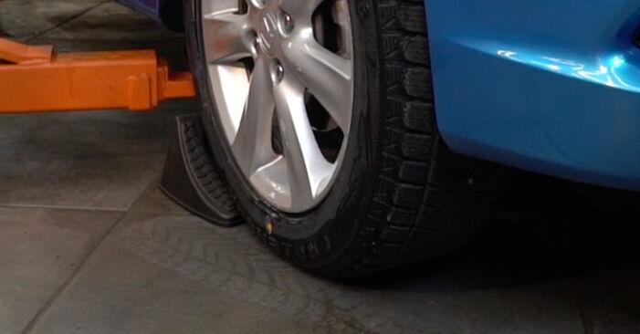 Wie Spurstangenkopf Honda Insight ZE2/ZE3 1.3 Hybrid (ZE28, ZE2) 2009 tauschen - Kostenlose PDF- und Videoanleitungen