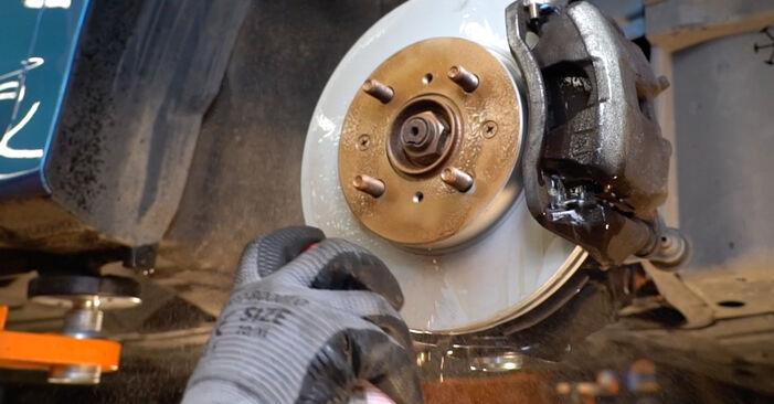 Wie schwer ist es, selbst zu reparieren: Spurstangenkopf Honda Insight ZE2/ZE3 1.3 Hybrid (ZE28, ZE2) 2015 Tausch - Downloaden Sie sich illustrierte Anleitungen