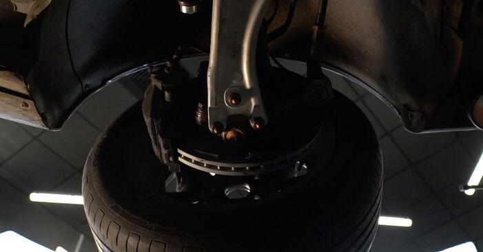 VW PASSAT 2006 Rotule De Direction manuel de remplacement étape par étape
