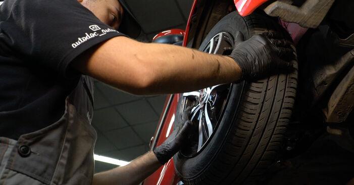 Combien de temps dure le remplacement : Rotule De Direction sur Peugeot 107 3/5 Portes 2013 - manuel PDF informatif