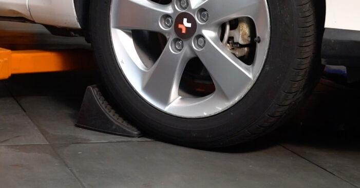Wie Spurstangenkopf Toyota Auris e15 1.4 D-4D (NDE150_) 2006 tauschen - Kostenlose PDF- und Videoanleitungen