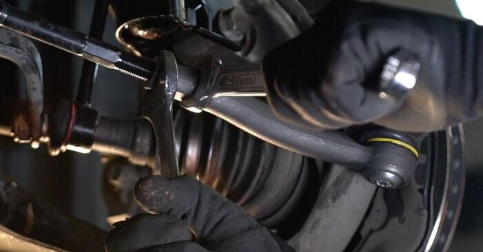 Wechseln Spurstangenkopf am TOYOTA PRIUS Liftback (NHW20_) 1.5 Hybrid (NHW2_) 2006 selber