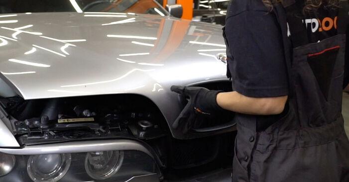 Wie BMW 5 SERIES 520i 2.2 1999 Kraftstofffilter ausbauen - Einfach zu verstehende Anleitungen online