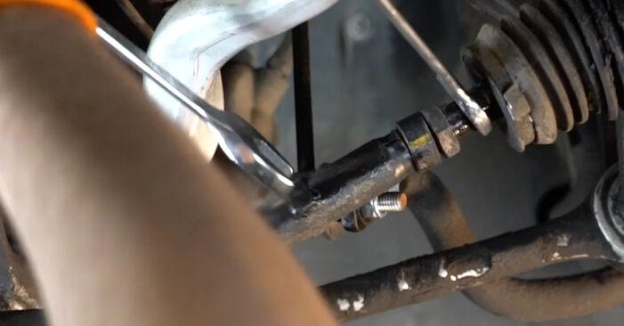 Tausch Tutorial Spurstangenkopf am BMW 5 Limousine (E39) 1998 wechselt - Tipps und Tricks