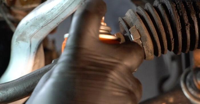Wie schwer ist es, selbst zu reparieren: Spurstangenkopf BMW E39 525i 2.5 2001 Tausch - Downloaden Sie sich illustrierte Anleitungen