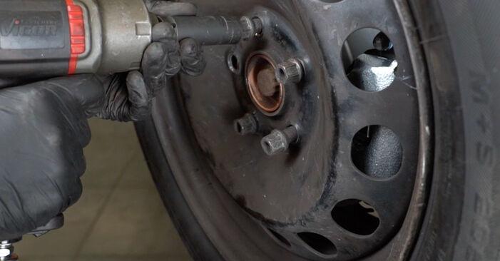 Wie schwer ist es, selbst zu reparieren: Spurstangenkopf Audi A3 8P 1.4 TFSI 2010 Tausch - Downloaden Sie sich illustrierte Anleitungen