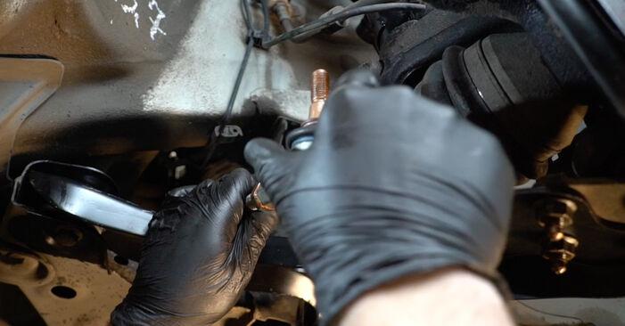 Tausch Tutorial Spurstangenkopf am VW Polo Limousine (602, 604, 612, 614) 2021 wechselt - Tipps und Tricks
