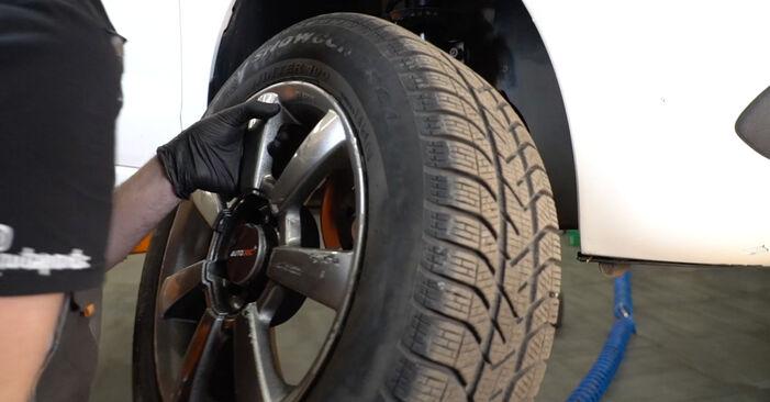 Wie VW POLO 1.6 2013 Spurstangenkopf ausbauen - Einfach zu verstehende Anleitungen online