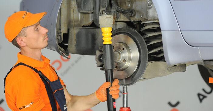 Schritt-für-Schritt-Anleitung zum selbstständigen Wechsel von Audi A4 B7 Avant 2007 2.0 TFSI quattro Domlager