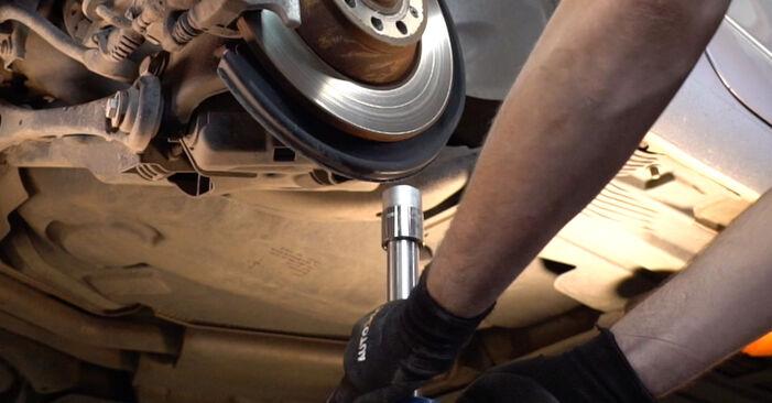 Austauschen Anleitung Domlager am Audi A4 B7 Avant 2004 2.0 TDI selbst