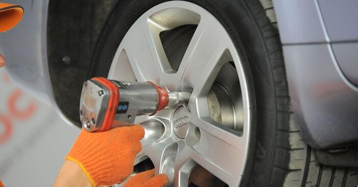 Domlager Audi A4 B7 Avant 1.9 TDI 2006 wechseln: Kostenlose Reparaturhandbücher