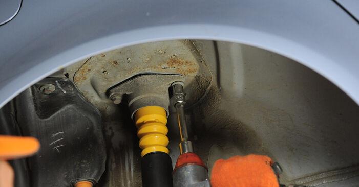 Wie problematisch ist es, selber zu reparieren: Stoßdämpfer beim Audi A4 B7 Avant 1.8 T 2005 auswechseln – Downloaden Sie sich bebilderte Tutorials
